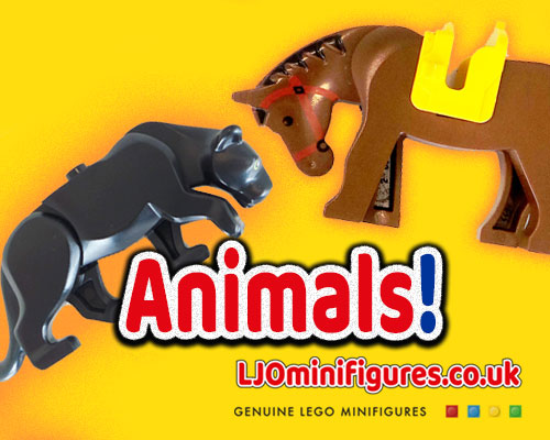 Lego Minifigures Animals