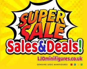 Lego Minifigures Sales & Deals