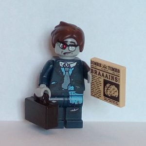 Lego® Minifigs, Collectible Minifigure Series 14 Minifigure Zombie Businessman