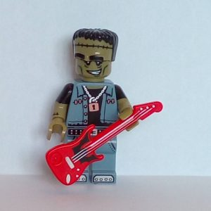 Lego® Minifigs, Collectible Minifigure Series 14 Minifigure Monster Rocker