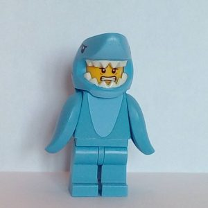 Lego® Minifigs, Collectible Minifigure Series 15 Minifigure Shark Suit Guy