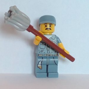Lego® Minifigs, Collectible Minifigure Series 15 Minifigure Janitor