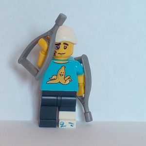 Lego® Minifigs, Collectible Minifigure Series 15 Minifigure Clumsy Guy