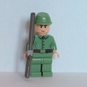 Lego Indiana Jones Russian Guard Minifigure
