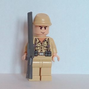 Lego Indiana Jones German Soldier Minifigure
