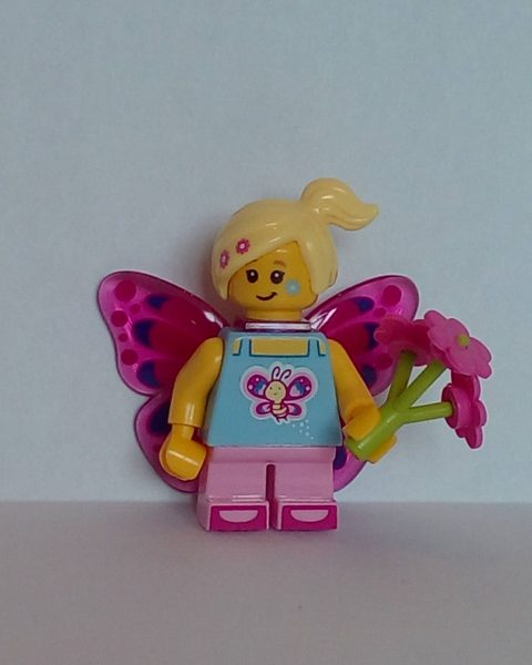 Lego Series 17 Butterfly Girl Minifigure