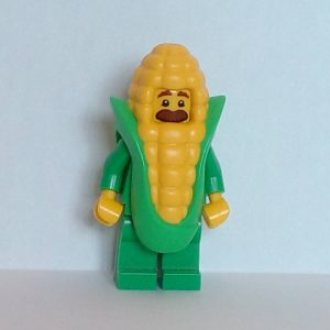 Lego Series 17 Corn Cob Guy Minifigure