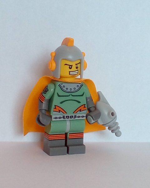 Lego Series 17 Spaceman Minifigure