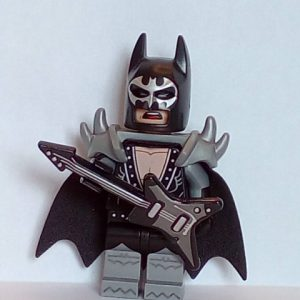 Lego The Batman Movie Minifigure Series Glam Metal Batman