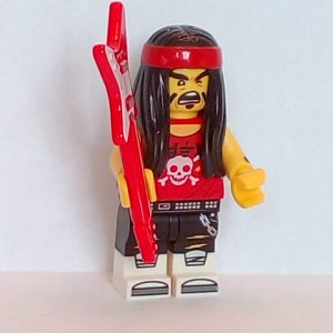 Lego The Ninjago Movie Minifigure Series Gong & guitar rocker