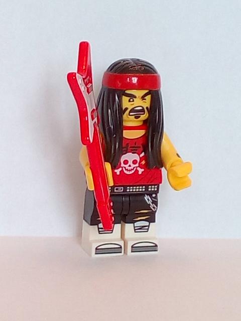 Lego Minifigure The Ninjago Movie Series Gong /& Guitar Rocker