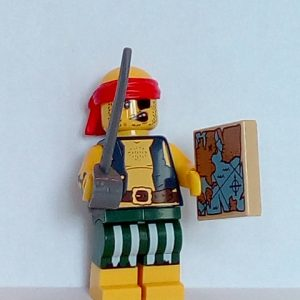 Lego Series 16 Minifigure scallywag Pirate