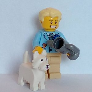 Lego Series 16 Minifigure Dog Show Winner