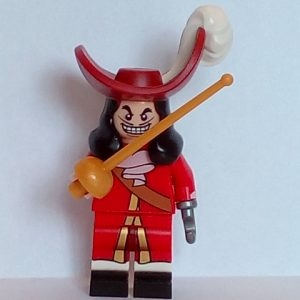 Lego Disney Minifigure Series Captain Hook
