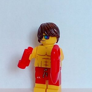 Lego Series 12 Minifigure Lifeguard