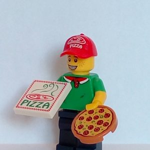 Lego Series 12 Minifigure Pizza Delivery Guy
