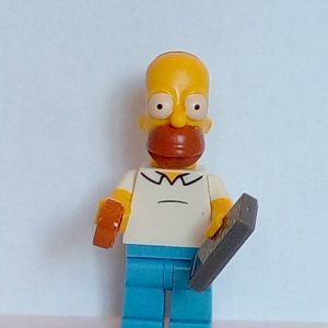 Lego Simpsons series 1 Homer Simpson Minifigure