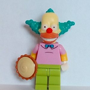 Lego Simpsons Series 1 Krusty the Clown Minifigure