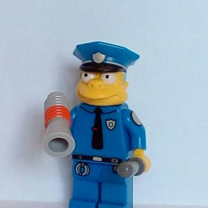 Lego® Simpsons Series 1 Chief Wiggum minifigure