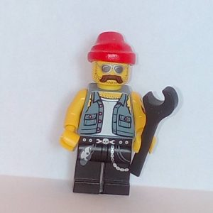 Lego Series 10 Minifigure Motorcycle Mechanic