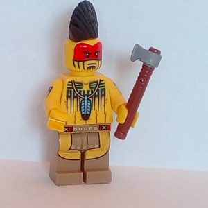 Lego Series 10 Minifigure Tomahawk Warrior