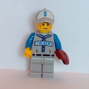 Lego Series 10 Minifigure Baseball Fielder