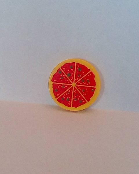 Lego® Pizza 2 (2X2 Tile)