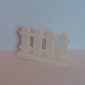 Lego City Fence White