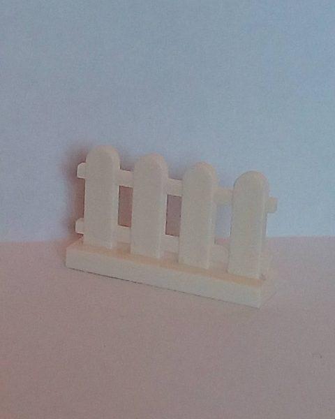 Lego City Fence White